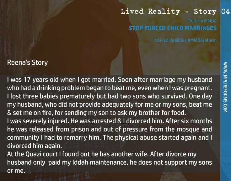 Lived Reality - Case 04a
